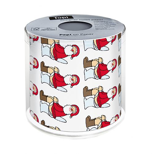 PAPER+DESIGN CHRISTMAS TOILET PAPER - OH