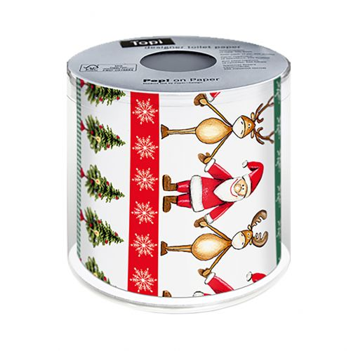 PAPER+DESIGN CHRISTMAS TOILET PAPER - TOGETHER