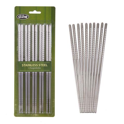 D.LINE STAINLESS STEEL CHOPSTICKS SET 5