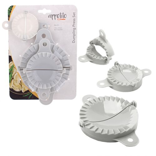 APPETITO DUMPLING PRESS SET 3 - WHITE