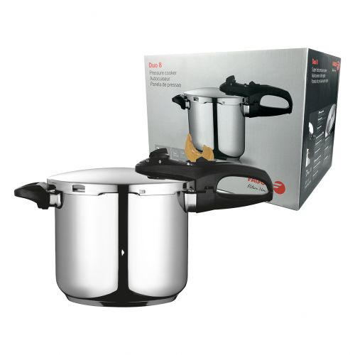 "FAGOR ""DUO"" STAINLESS STEEL PRESSURE COOKER 7.5L"