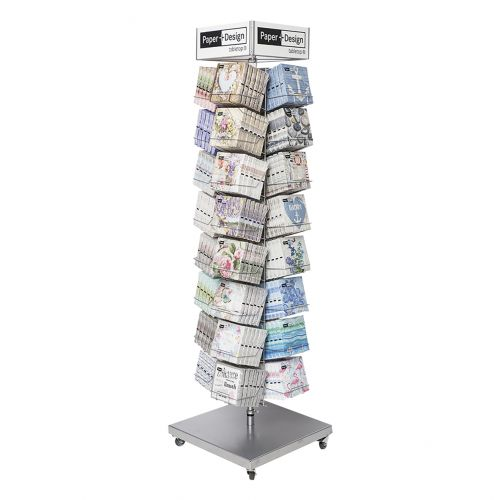 PAPER+DESIGN PREMIUM SPINNER STAND (HOLDS 32 STYLES - 192 TOTAL)
