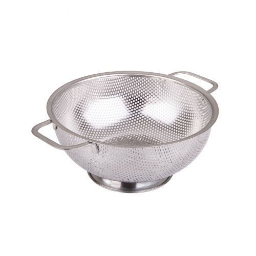 APPETITO STAINLESS STEEL PERFORATED COLANDER 22.5CM DIA.