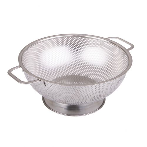 APPETITO STAINLESS STEEL PERFORATED COLANDER 25.5CM DIA.
