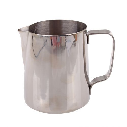 CASABARISTA STAINLESS STEEL MILK FROTHING JUG 600ML
