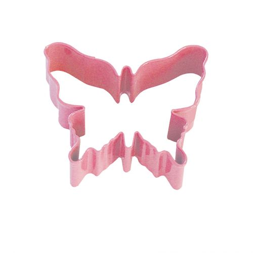 D.LINE BUTTERFLY COOKIE CUTTER 8CM - PINK