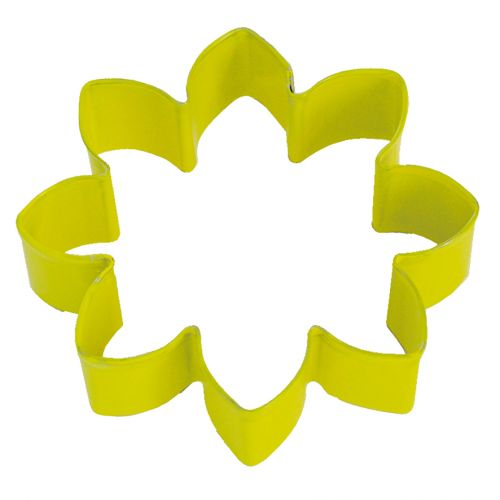 D.LINE DAISY COOKIE CUTTER 9CM - YELLOW