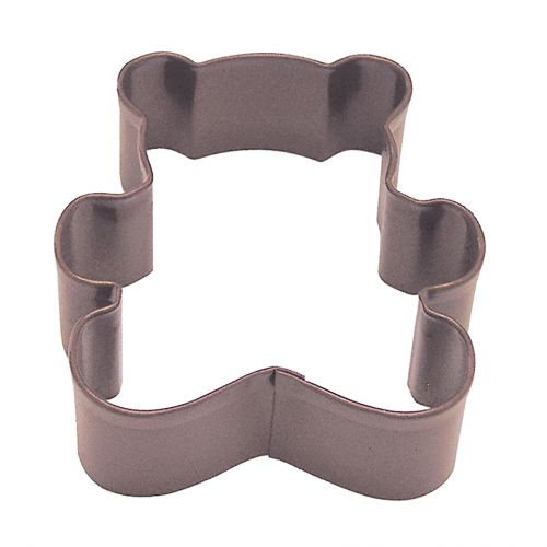 D.LINE TEDDY BEAR COOKIE CUTTER 7.75CM - BROWN