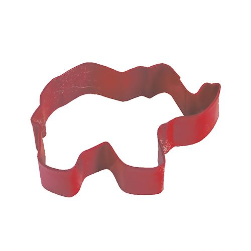 D.LINE ELEPHANT COOKIE CUTTER 9CM - RED