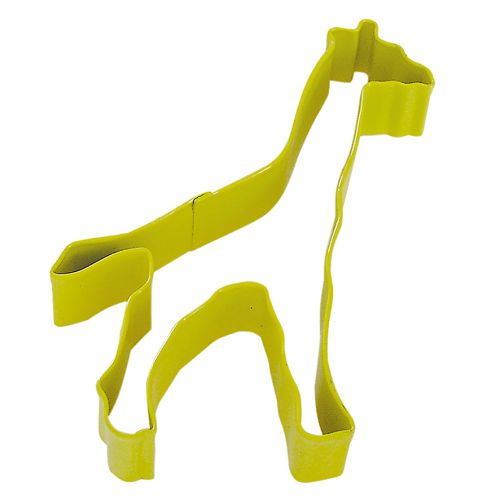 D.LINE GIRAFFE COOKIE CUTTER 12.75CM - YELLOW