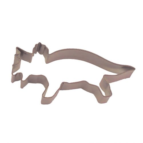 D.LINE TRICERATOPS COOKIE CUTTER 15.25CM - BROWN