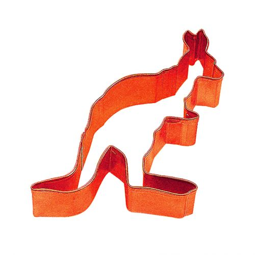 D.LINE KANGAROO COOKIE CUTTER 8CM - ORANGE