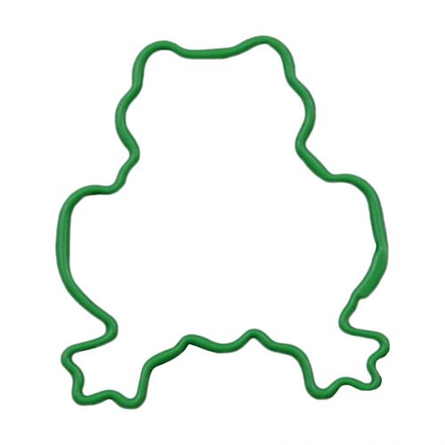 D.LINE FROG COOKIE CUTTER 7.6CM - GREEN