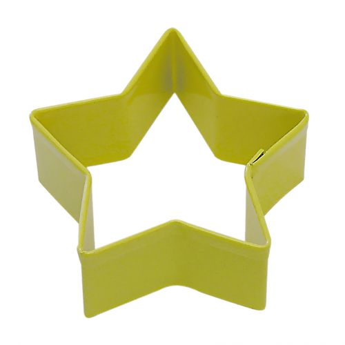 D.LINE STAR COOKIE CUTTER 7CM - YELLOW