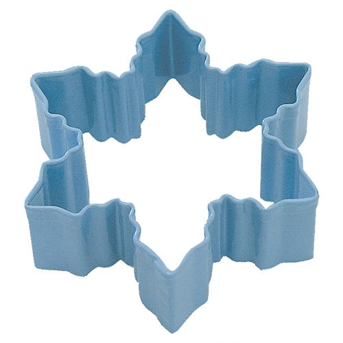 D.LINE SNOWFLAKE COOKIE CUTTER 7.75CM - BLUE