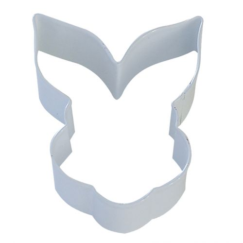 D.LINE BUNNY FACE COOKIE CUTTER  9CM - WHITE