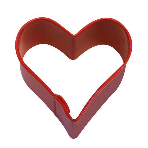 D.LINE MINI HEART COOKIE CUTTER 3.8CM - RED