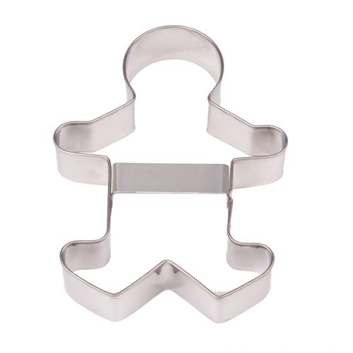 D.LINE STAINLESS STEEL GINGERBREAD MAN COOKIE CUTTER 13CM
