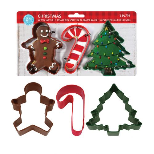 D.LINE XMAS COOKIE CUTTER SET 3 - MULTI-COLOUR