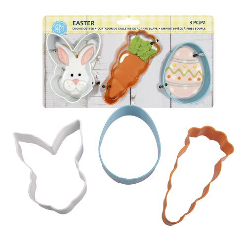 D.LINE EASTER COOKIE CUTTER SET 3 - ASST. COLOURS