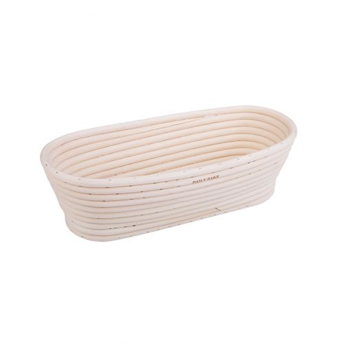 DAILY BAKE OVAL PROVING BASKET 27 X 13 X 8CM