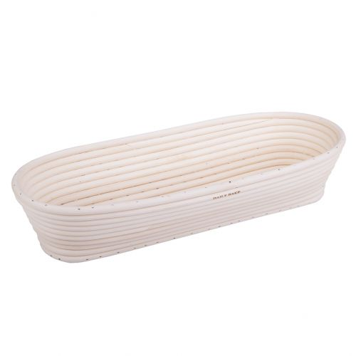 DAILY BAKE OVAL PROVING BASKET 35 X 15 X 7CM