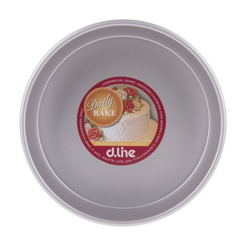"DAILY BAKE 10"" DEEP ROUND CAKE PAN 25CM DIA. X 7.5CM HIGH"