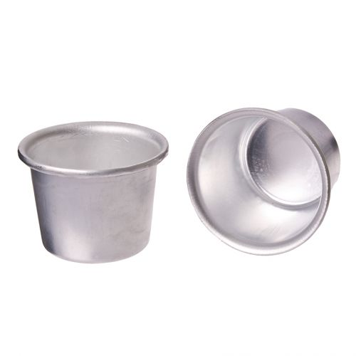 DAILY BAKE INDIVIDUAL ALUMINIUM PUDDING MOULD 7CM DIA. X 5CM (200ml)