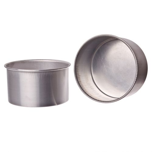 DAILY BAKE ALUMINIUM MINI ROUND CAKE PAN 10CM DIA. X 6.35CM HIGH