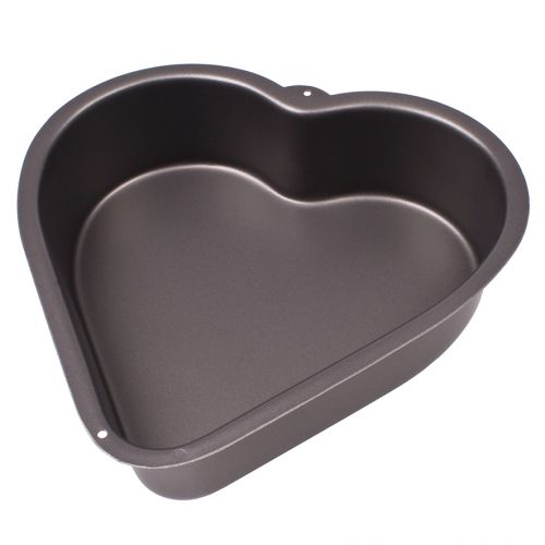 DAILY BAKE NON-STICK DEEP HEART CAKE PAN 24.5 X 6.5CM