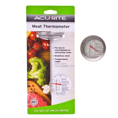 ACURITE DIAL STYLE MEAT THERMOMETER (CELSIUS)