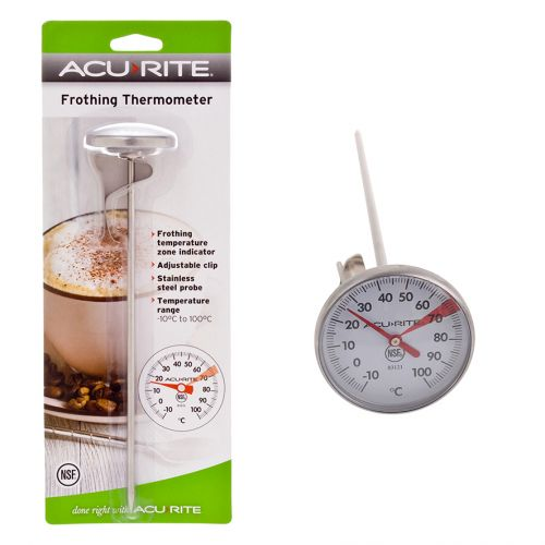ACURITE LARGE FROTHING THERMOMETER (4CM DIA. DIAL)