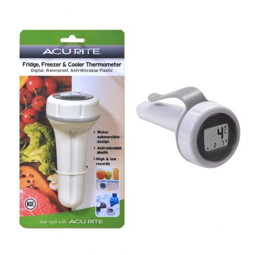ACURITE DIGITAL FRIDGE, FREEZER & COOLER THERMOMETER - WHITE