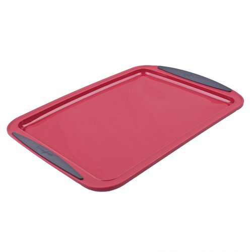 DAILY BAKE SILICONE BAKING TRAY - RED