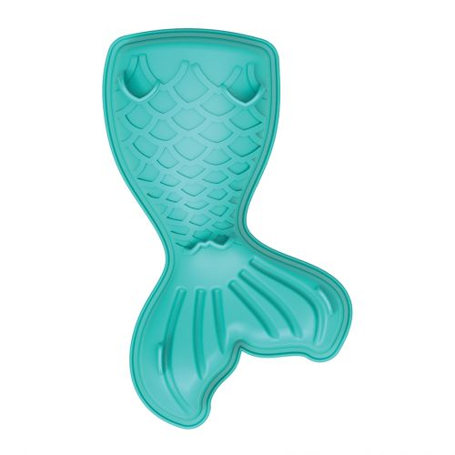 DAILY BAKE SILICONE MERMAID TAIL CAKE MOULD - TURQUOISE