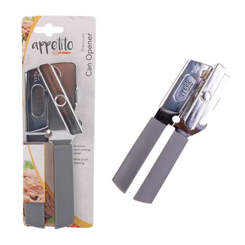 APPETITO PREMIUM CAN OPENER - CHARCOAL