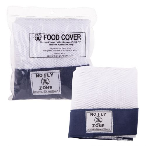 "D.LINE ""NO FLY ZONE"" TABLE-THROW FOOD COVER - NAVY"