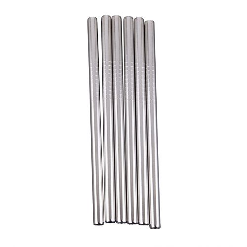 APPETITO STAINLESS STEEL COCKTAIL STRAWS (BULK)