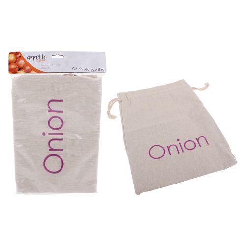 APPETITO ONION BAG EMBROIDERED 27.5 X 39CM