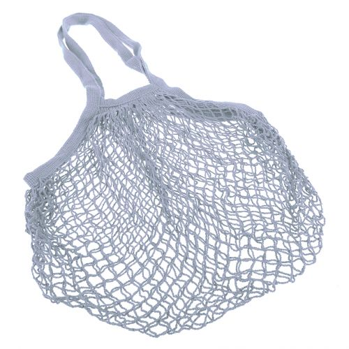 SACHI COTTON STRING BAG LONG HANDLE - SKY BLUE