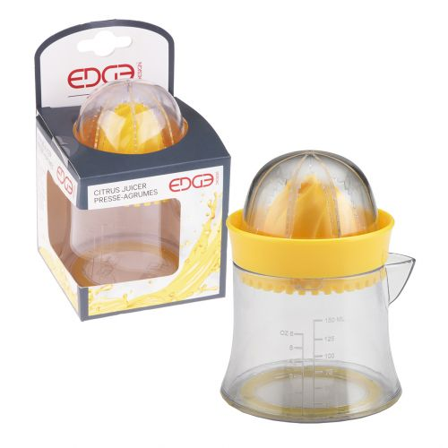 EDGE DESIGN MINI CITRUS JUICER - YELLOW
