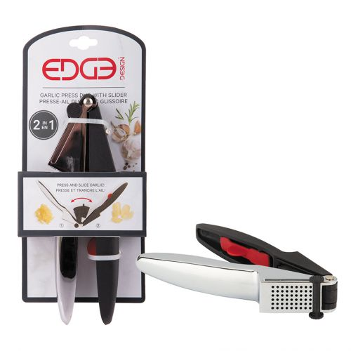 EDGE DESIGN GARLIC DUO PRESS & SLICER