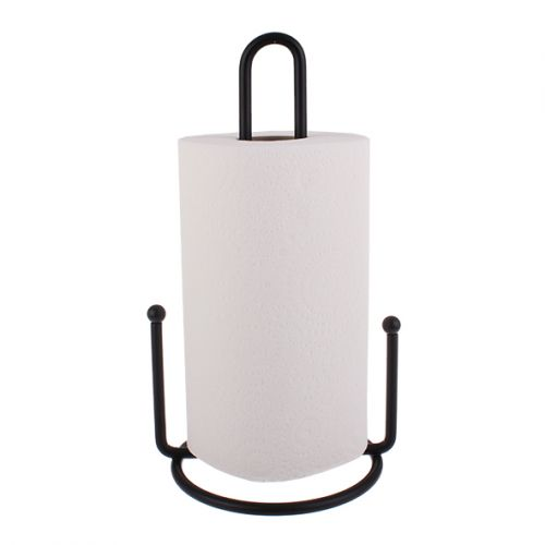 ENTRÉE DELUXE PAPER TOWEL HOLDER 29CM - BLACK