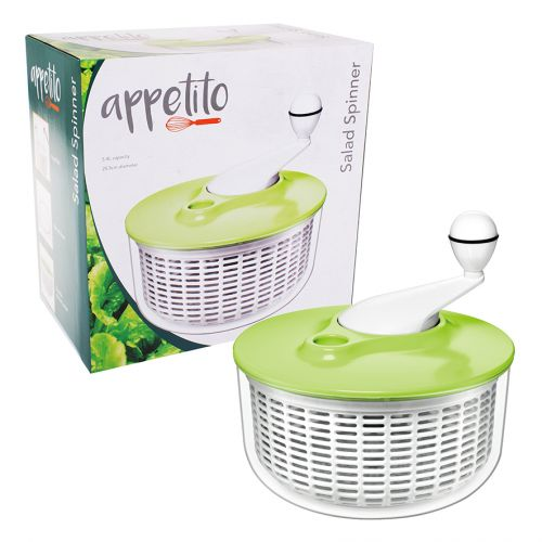 APPETITO SALAD SPINNER - GREEN