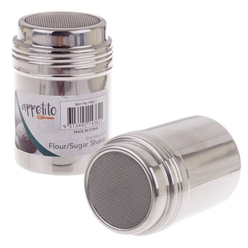 APPETITO SMALL STAINLESS STEEL MESH SHAKER