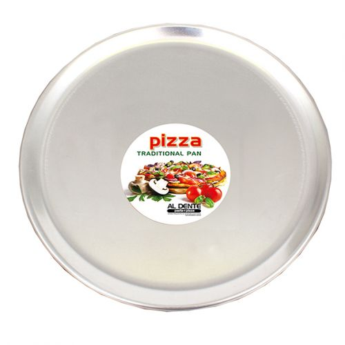 "AL DENTE ALUMINIUM PIZZA PAN 14""/35CM DIA. X 1MM"