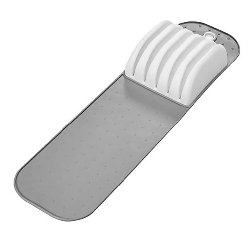 MADESMART SMALL IN-DRAWER KNIFE MAT 38.4 X 10.6 X 5.4CM - GREY