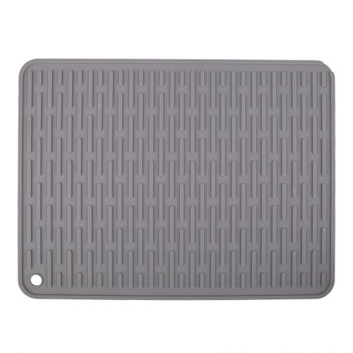 D.LINE SILICONE DRYING MAT 40 X 30CM - GREY