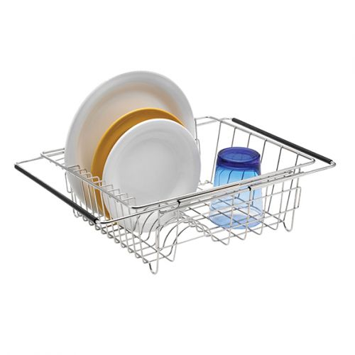 POLDER S/S EXPANDABLE IN-SINK DISH RACK 35 X 30 X 12.7CM