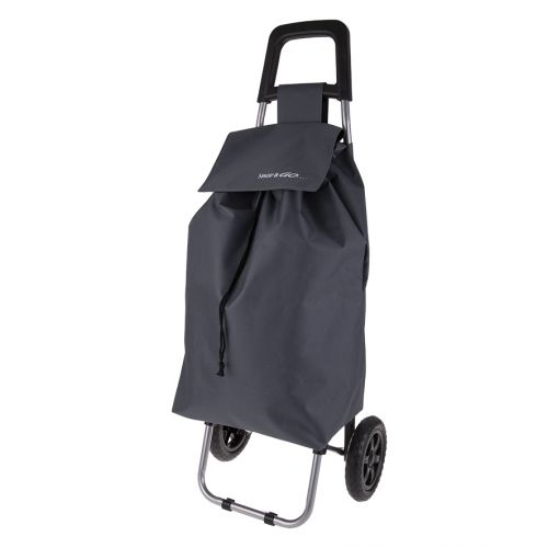 "SHOP & GO ""CLIO"" SHOPPING TROLLEY - CHARCOAL GREY"